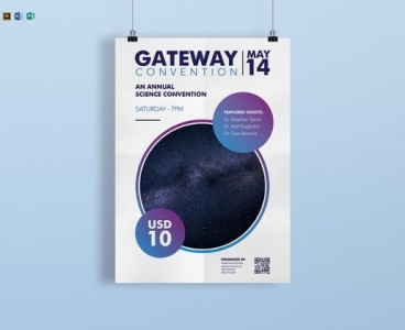 طراحی پوستر علمی و همایش