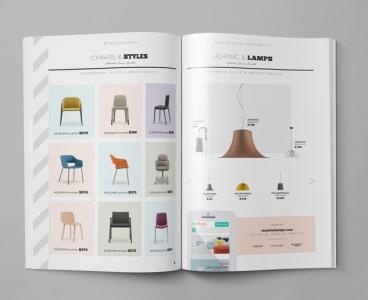 طراحی کاتالوگ خلاقانه