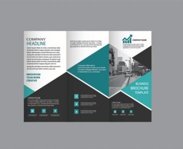 طراحی بروشور حرفه ای