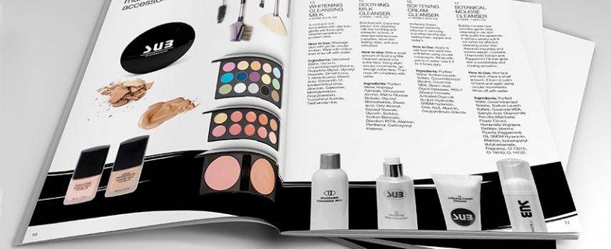 طراحی کاتالوگ آرایشی و بهداشتی