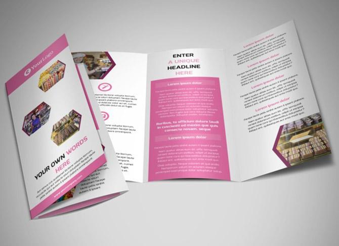 طراحی بروشور در سطح استاندارد بین المللی