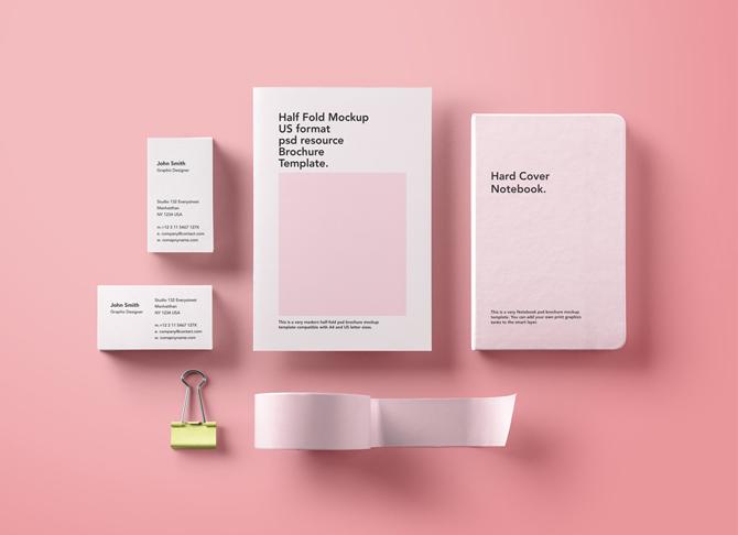 طراحی ست اداری (سربرگ، پاکت نامه، کارت ویزیت)